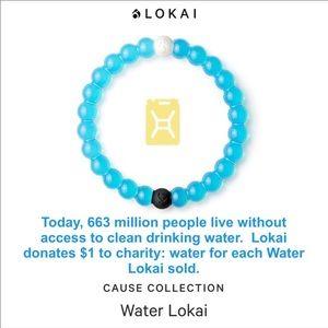 LOKAI Blue Clean Water Bracelet NEW